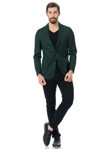 Daffari Ceket Yeşil